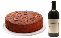 Plum Cake with Red Wine