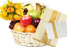 ONAM Special - 2 Kg Fresh Fruits, Sett Mundu and Kasavu Mundu